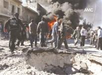 حلب براميل دمار