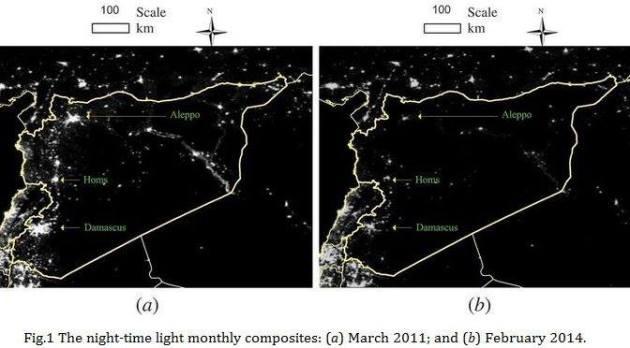 سوريا ليلاً
