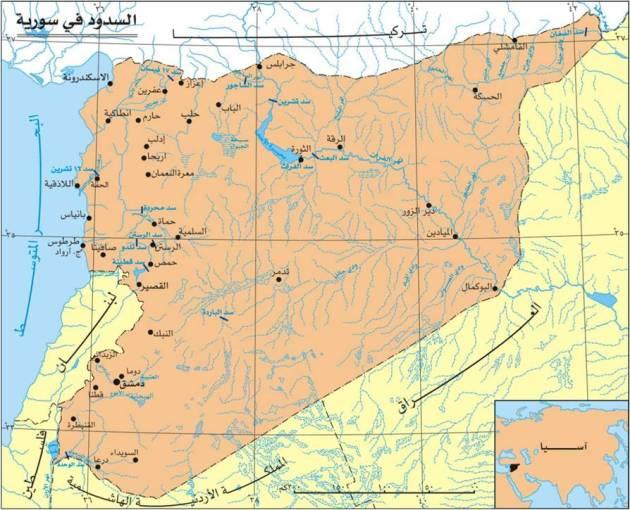الأمن المائي في سورية